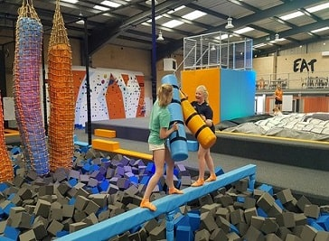 Go Bounce Extreme Trampoline Park in Doncaster